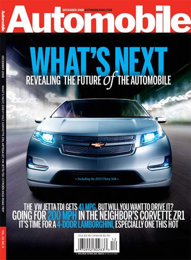 Cover of Automobile Magazine